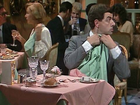 restaurant - OFFICIAL MR BEAN. Mr Bean arrives at a restaurant on his birthday. He's not sure how to behave. Includes hilarious tasting of wine and napkin sketches. From ...