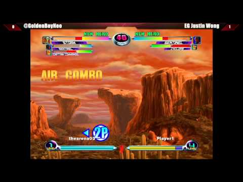 capcom - Marvel vs Capcom 2 - 4 Man Exhibition - East Coast Throwdown V - Part 3 MVC2 Players: EG Justin Wong - Golden Boy Neo - VxG EMP Sanford Santhrax Kelly - Josh...
