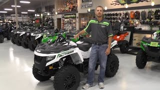 5. 2017 Arctic Cat Alterra TRV 550 XT White Metallic