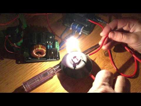 BANGGOOD - 12V 24V ZVS Tesla Coil Flyback Driver Generator Marx Generator