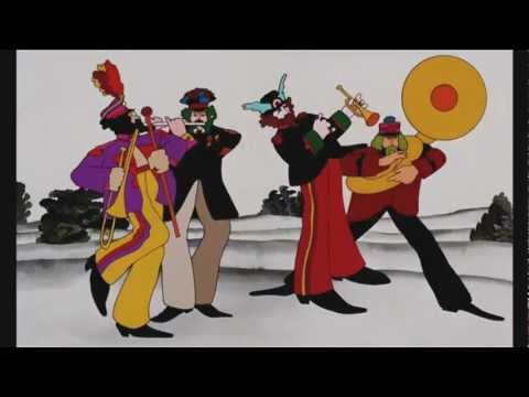 """Yellow Submarine"" : le dessin animé en DVD le 28 mai 2012"