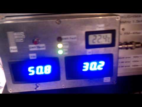 1500W 144MHz water-cooled solid-state homebrew amplifier -