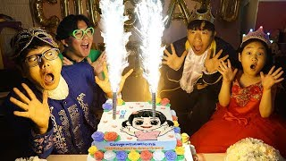 Video 보람이의 생일축하 파티 놀이 Boram and happy birthday party MP3, 3GP, MP4, WEBM, AVI, FLV Mei 2019