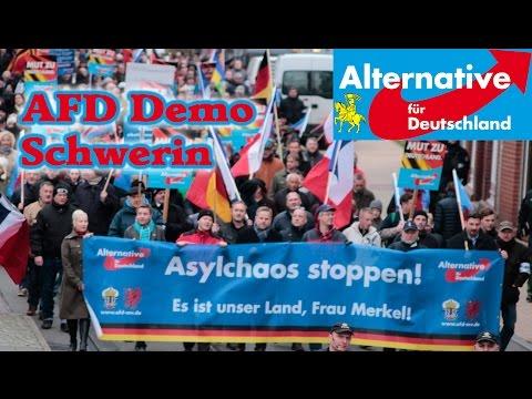 Schwerin 2015: AFD Demo 21.11.2015 Schwerin Mecklenburg ...