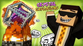 HILARIOUS HIGHLY EXPLOSIVE ENDER CRYSTAL CHAINS - Minecraft Super Fun Parkour Map #2 (FINALE)