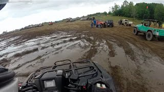 2015 Honda Foreman playing at Twisted Trails Offroad Park