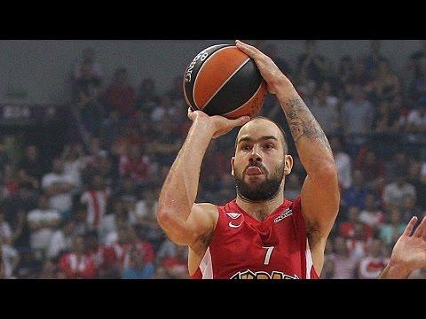 Euroleague Milestone: Vassilis Spanoulis 2,500 points scored