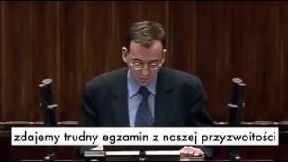 Mariusz Kamiński (PiS) o uchodźcach 2002 r.