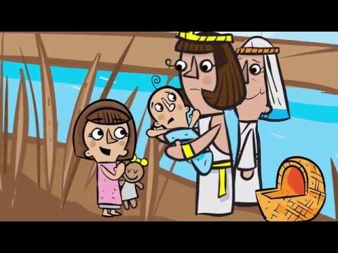 Baby Moses (Exodus 1-2)