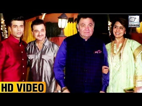 Shabana Azmi's Diwali Party | Farhan Akhtar Aamir
