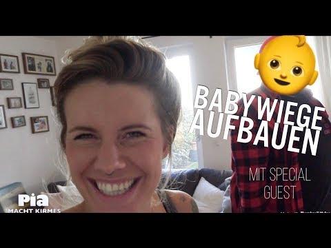 Babywiege aufbauen - mit Special Guest ♡