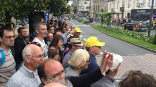 Fougeres France  city images : Tour de France 2016 à Fougères, peloton sur la place Carnot