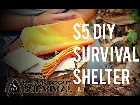 $5 DIY Survival Shelter