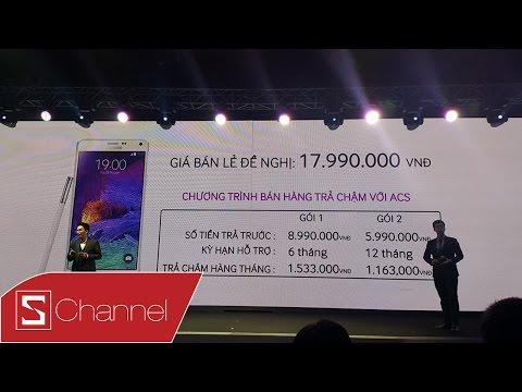 Toàn cảnh sự kiện ra mắt Galaxy Note 4 tại Việt Nam