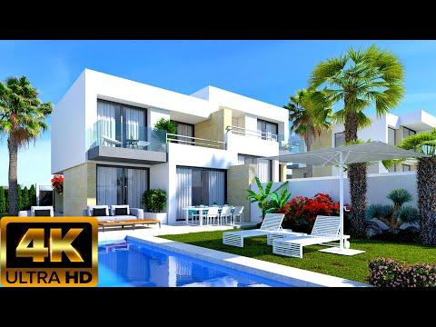 От 397000€/Новые дома с видом на море в Испании/Дома в Бенидорме/Купить недвижимость в Испании 2020