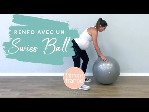 Swiss Ball femme enceinte