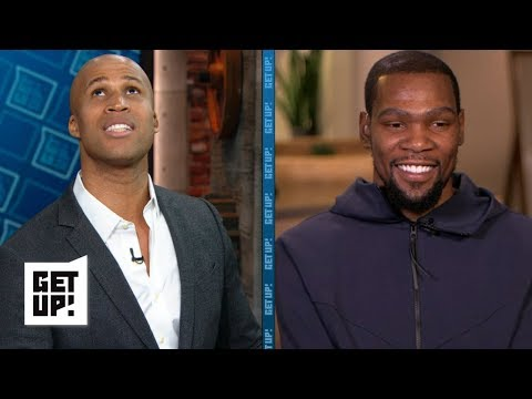 Video: Richard Jefferson isn't stopping me on defense - Kevin Durant | Get Up!
