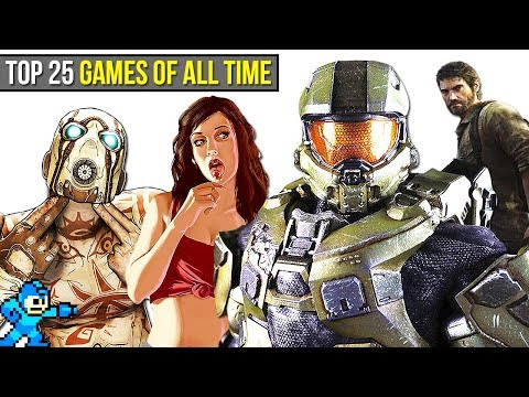 Video Top 25 BEST Video Games of ALL TIME | Chaos download in MP3, 3GP, MP4, WEBM, AVI, FLV January 2017