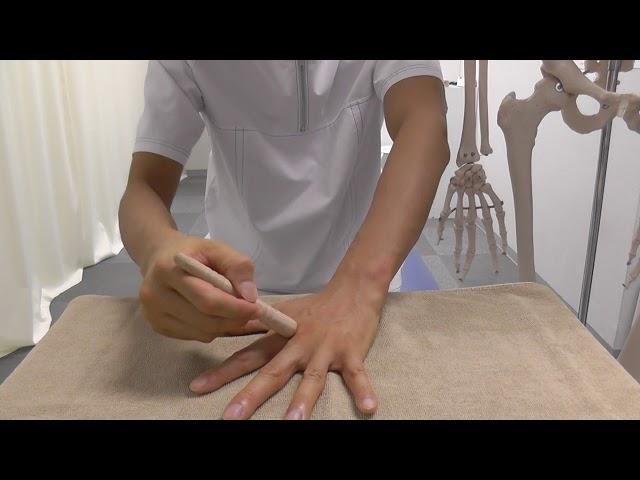 【セルフケア動画】手の整体 3 腰痛を和らげる