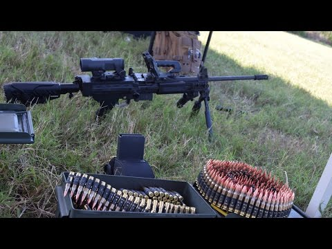 big 3 - The IWI Negev delivers belt fed Light machine gun capabilities that don't outweigh its firepower. This weapon not only runs off belts but will accept any STANAG magazine. This thing is a dream...