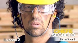 Segundo episódio do Chefe Secreto do Fantástico, onde Pedro Stivalli o Sócio-Diretor da Adezan Logística e Embalagens revela sua identidade e se emociona.