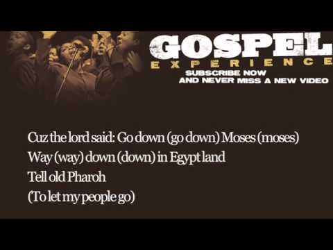 Louis Armstrong with Sy Oliver's Orchestra - Go Down Moses