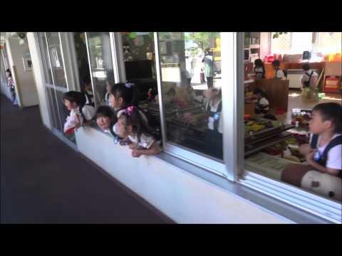 ともべ幼稚園「響き渡る大歓声!」