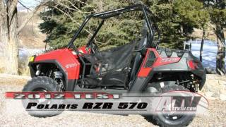 4. ATV Television - 2012 Polaris RZR 570 Test Details