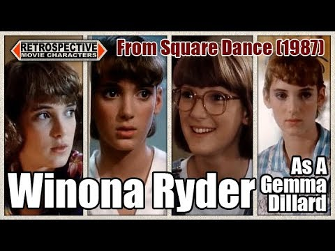 Winona Ryder As A Gemma Dillard From Square Dance (1987)