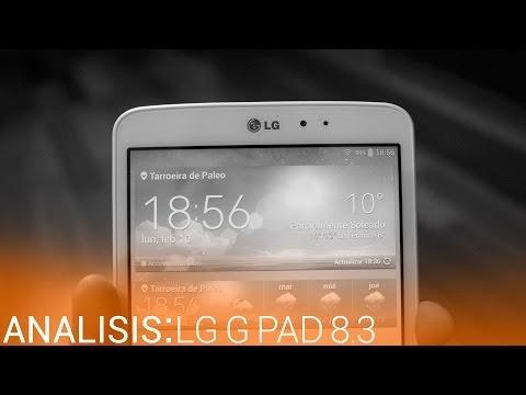 LG G Pad 8.3: Análisis en español