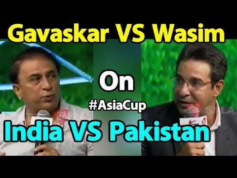 #SalaamCricket18: Gavaskar & Wasim Akram On India-Pakistan Rivalry & Friendship | Sports Tak (видео)