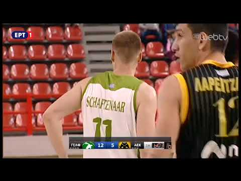 Comment during the Greek A1 basketball game Faros Larisa-AEK
