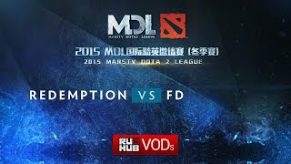 Redemption vs FD, game 2