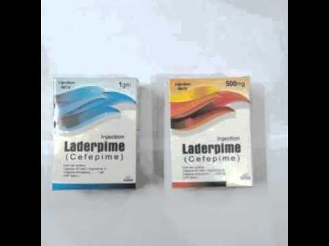 INJ. LADERPIME (Cefepime 500mg+1gm)