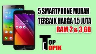 Video 5 SmartPhone Murah Terbaik Harga 1,5 jutaan RAM 2 dan 3 GB MP3, 3GP, MP4, WEBM, AVI, FLV Juni 2018