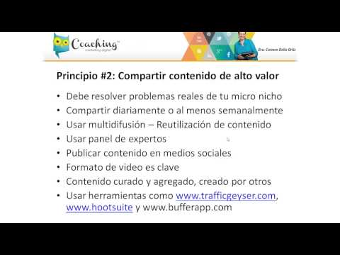 7 principios del Marketing Digital en 2014 #2: Crear y compartir contenido de alto valor