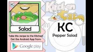 KC Pepper Salad YouTube video