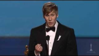 Dustin Lance Black Wins Original Screenplay: 2009 Oscars