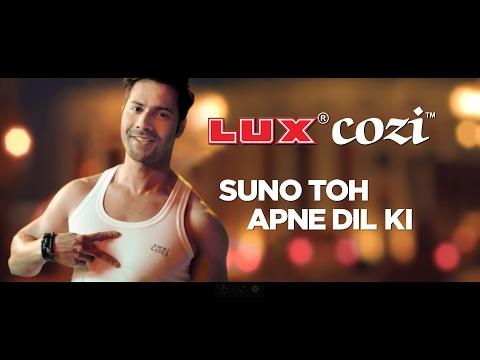 Video Lux Cozi Varun Dhawan TVC download in MP3, 3GP, MP4, WEBM, AVI, FLV January 2017