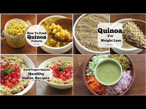 4 Healthy Quinoa Recipes For Weight Loss - Dinner Recipes - Skinny Recipes To Lose Weight Fast