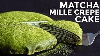 Video How To Make Matcha Mille Crepe Cake (Recipe) 抹茶ミルクレープケーキの作り方 (レシピ) MP3, 3GP, MP4, WEBM, AVI, FLV November 2018