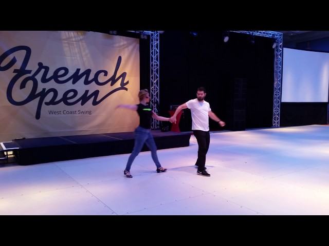 French Open 2017 - Ben Morris and Victoria Henk Workshop