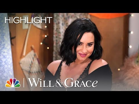 Will's Surrogate (Demi Lovato) Is a What? - Will & Grace