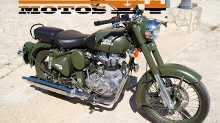 9. Royal Enfield Clasic 500 Battle Green Prueba test (English subtitles)