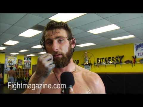 Brett Coopers Battle Beard  Talks Bellator Season Two