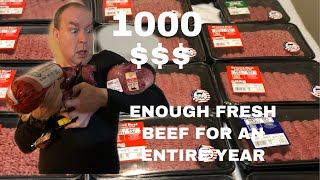 DUMPSTER DIVING/ ENOUGH FRESH MEAT FOR AN ENTIRE YEAR!!!