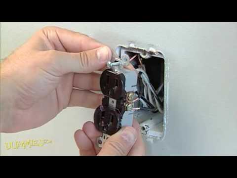 How to Replace a Standard Electrical Outlet