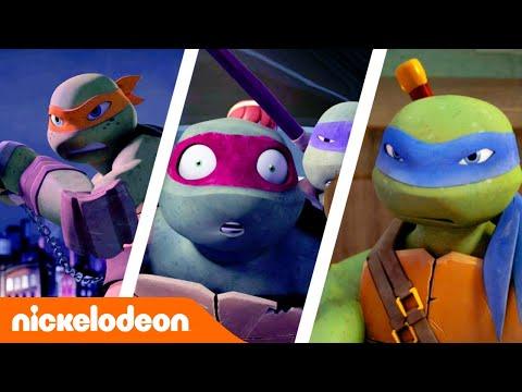 Черепашки-ниндзя   Черепахи в действии   Nickelodeon Россия