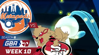 New York Metapods vs San Francisco Arcaniners! Week 10 GBA | Defogged! by aDrive