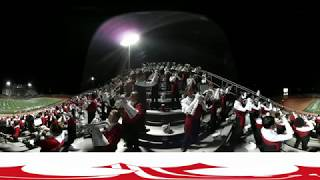 Download Lagu 360 VIDEO In the stands with the Taft Raider Band 2017 Mp3